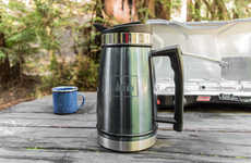 Travel-Friendly Coffee Makers - This Insulated Coffee Maker Ideal for Picnics and Camping Trips