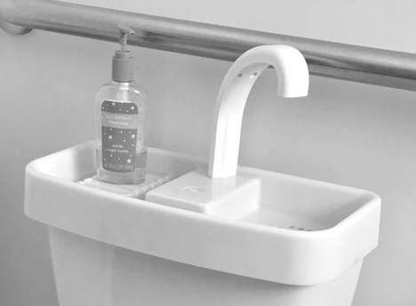 Water-Conserving Toilet Sinks