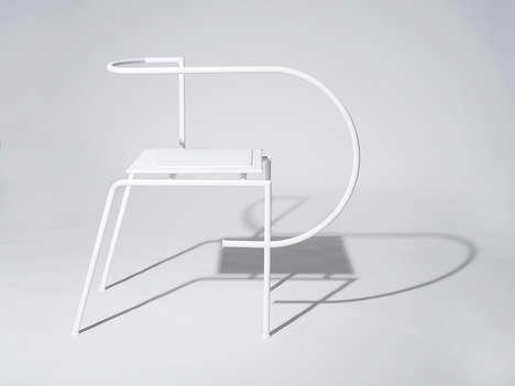 Peculiar Asymmetric Chairs