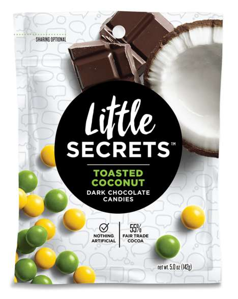 GMO-Free Chocolate Candies - These Candy-Coated Chocolates are Made from All-Natural Ingredients