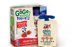 Squeezable Yogurt Pouches