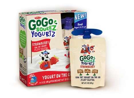 Squeezable Yogurt Pouches