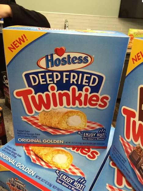 Prepackaged Deep-Fried Snack Cakes