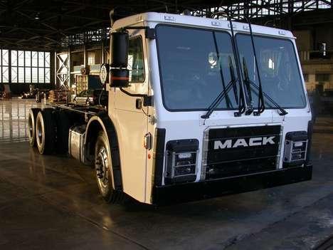 Eco-Friendly Garbage Trucks