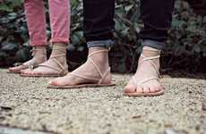 Tradition-Protecting Sandals - This Company Aims to Restore An Ancient Shoe-Making Tradition
