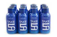 Stress-Reducing Supplements - 'Take 5' is a Compact Liquid Shot for Stress Relief and Focus