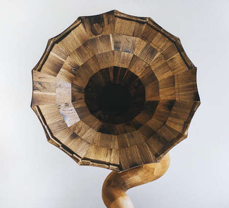 Reclaimed Wooden Speakers