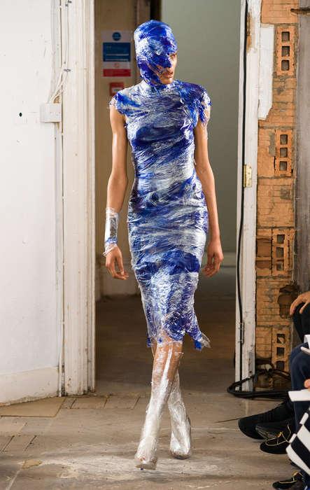 Cling-Film Dresses