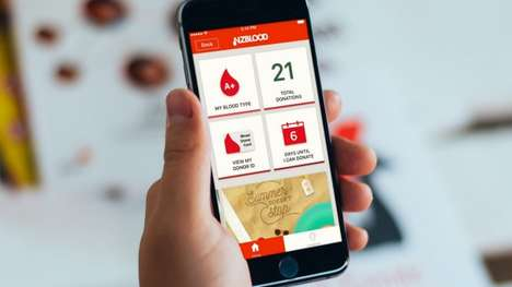 Streamlined Blood Donation Apps