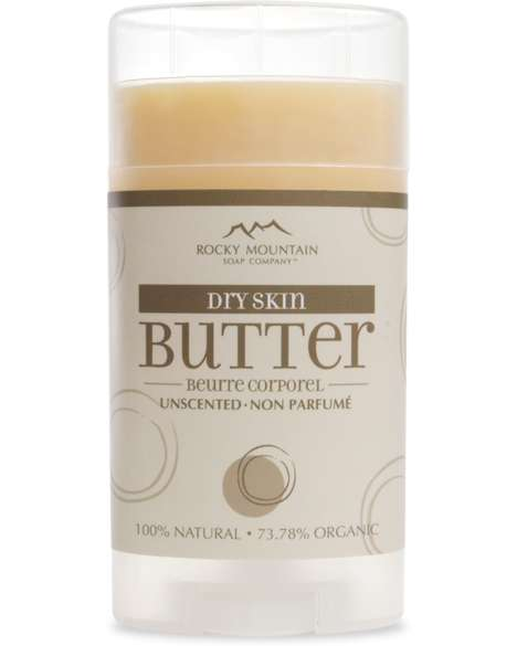 Roll-On Body Creams - Rocky Mountain Soap Co.'s Unscented Body Butter is Packaged Like a Deodorant