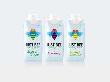 Geometrical Honey Water Branding