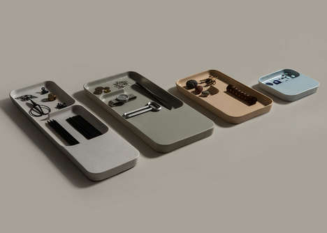 Charging Ceramic Trays
