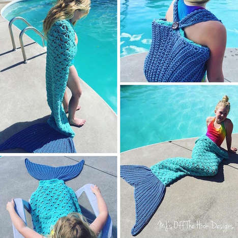 Mythical Crocheted Towels