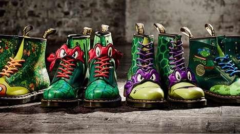 Mutant Turtle Combat Boots