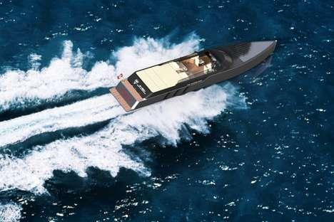 Sleek Solar Electric Boats