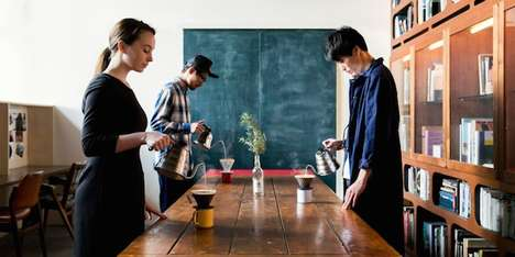 Slow-Drip Coffee Shops - 'Minedrip' Turns Every by Customer into a Barista with Self-Serve Coffee