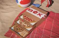 Seasonal Tiered Pizza Boxes - Pizza Hut Recently Debuted a Summer Edition of Its Triple Treat Box