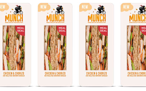 See-Through Sandwich Packaging