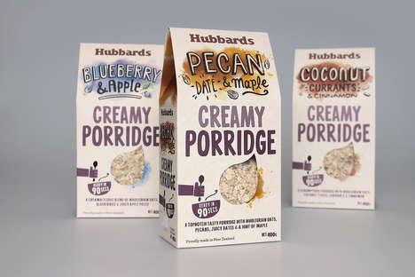 Artisanal Porridge Packaging