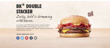 Dual Patty Hamburgers