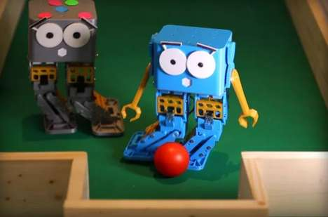 Programmable Robot Toys - Marty is a Robot for Kids That Teaches Coding in a Fun Way