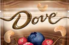 Dark Chocolate Fruit Snacks - Dove's New Trail Mix Line-Up Includes Chocolate-Covered Fruit and Nuts