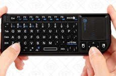 Texting Gaming Consoles - iClever Wireless Keyboard Allows Gamers to Spell Easily in Virtual Worlds