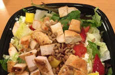 Fruity Fast Food Salads - Wendy's New Strawberry Mango Chicken Salad Gives Diners a Seasonal Option