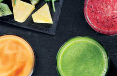 Coffee Shop Fruit Smoothies - Starbucks UK Recently Launched a Range of Fresh Fruit Smoothies