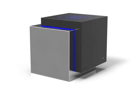 Compact Cubic Speakers