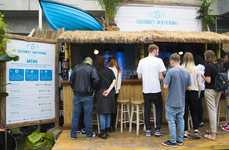 Mocktail Bar Pop-Ups - Innocent's Brand Activation Promotes Healthy Drinking Habits