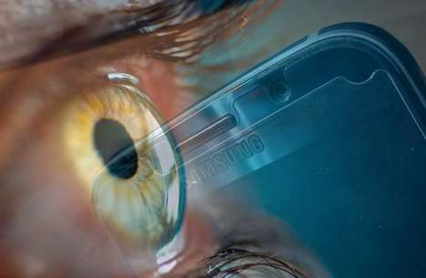 Smartphone Security Scanners - The Upcoming Samsung Phone Will Likely Have an Iris Scanner