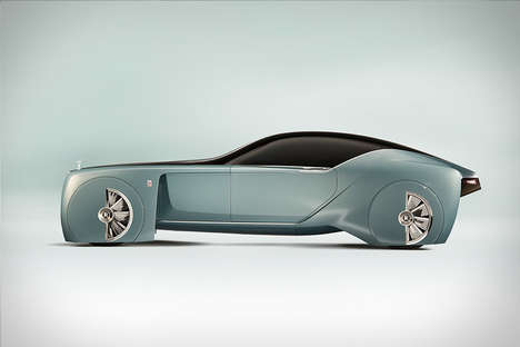 Lavish Concept Cars - The Rolls-Royce Vision Concept Car Can Customize to the User's Needs