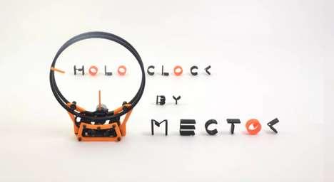Printable Ring Clocks