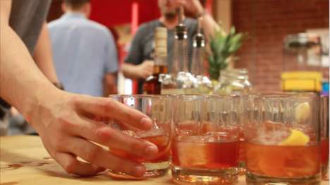 Collaborative Cocktail Tastings - Minister Group Teaches Teams How to Mix the Perfect Cocktail