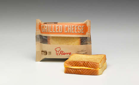 Microwavable Grilled Cheese Sandwiches