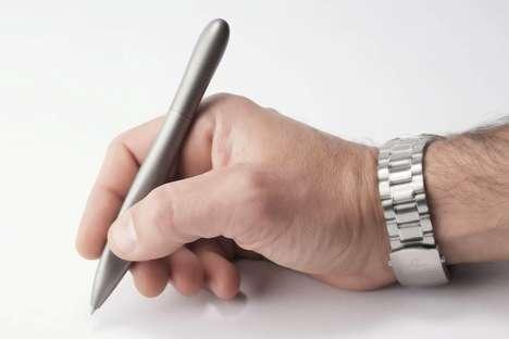 Ergonomic Titanium Pens