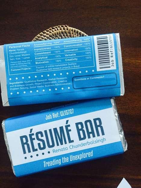Chocolate Bar Resumes