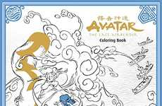 Advanced Cartoon Coloring Books - The Avatar: The Last Airbender Coloring Book is for Adult Fans