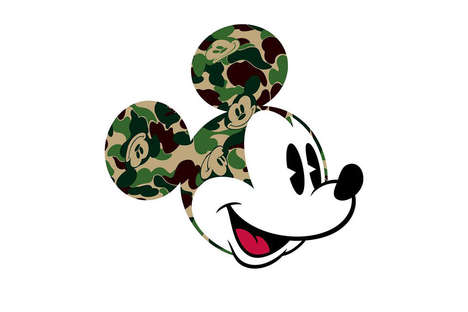 Streetwear Disney Collaborations - BAPE and Disney Joined for a Line of Mickey Mouse Clothing
