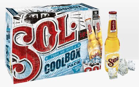 Temperature-Regulating Beer Boxes