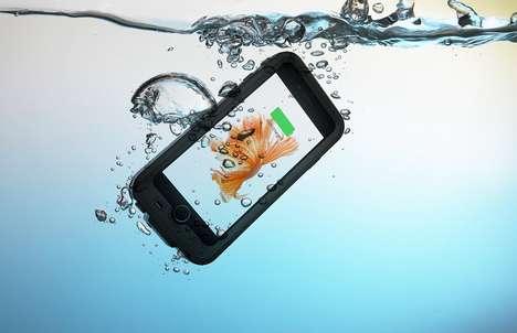 Waterproof Smartphone Charging Cases