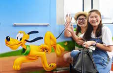 Disney-Themed Transportation - Shanghai Disney Resort Offers Decorated Character Trains for Riders