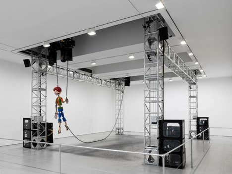 Robotic Marionette Exhibits
