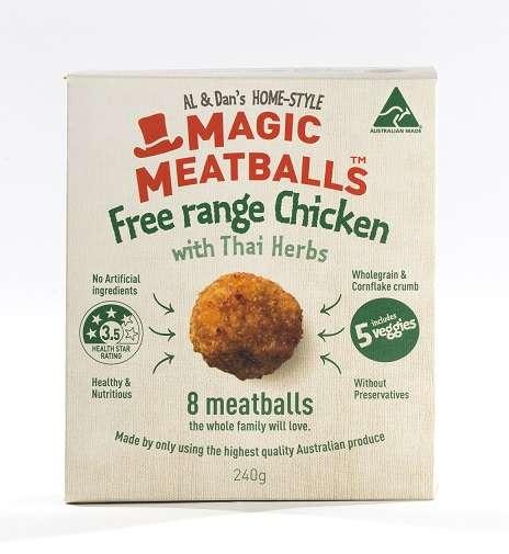 Healthy Australian Meatballs