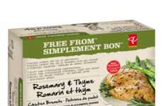 Free-From Product Labels - The PC Free from Range is Made Without the Use of Antibiotics
