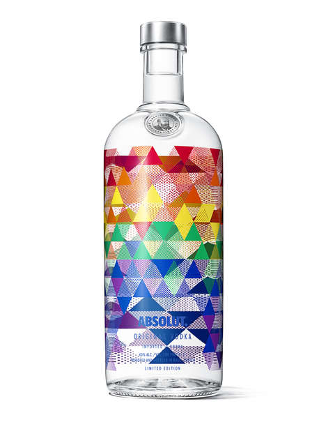 Pride-Celebrating Alcohol Bottles