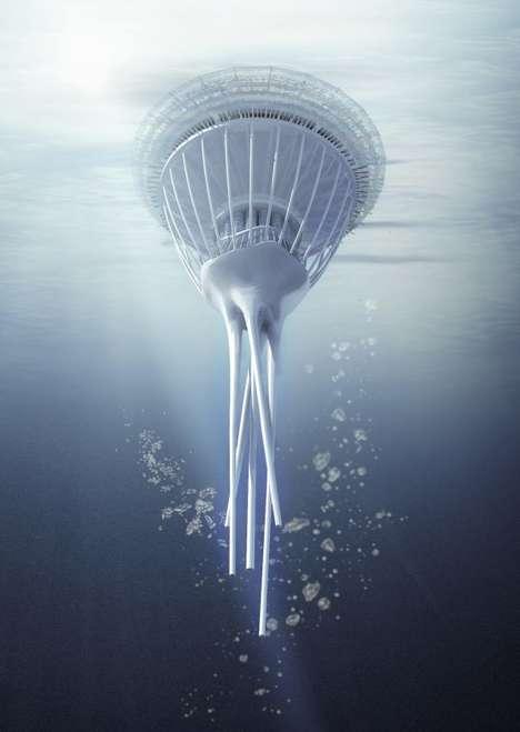 Floating Water Skyscrapers
