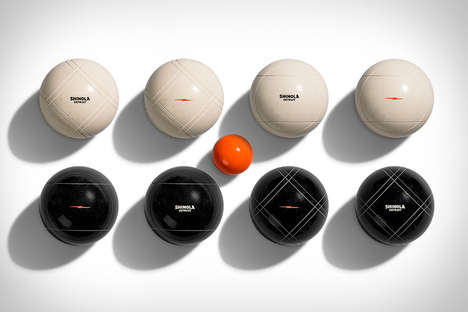 Chic Lawn Games - The Shinola Bocce Ball Set is the Perfect Gift for Father's Day
