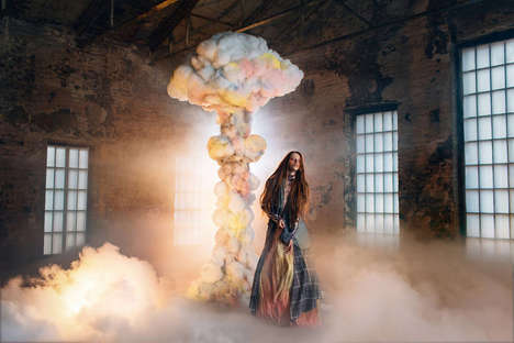 Dreamlike Fashion Photography - Nice Lies by Anna Radchenko is Full of Imaginative Imagery